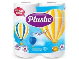 Plushe бумажные полотенца Light Color 2 слоя,2 рулона