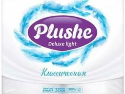 Plushe Deluxe Light - классическая 3 слоя,4 рулона