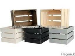 Подарочные деревянные ящики