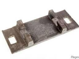 Подкладка КБ65 для железобетонной шпалы раздельного скреплен