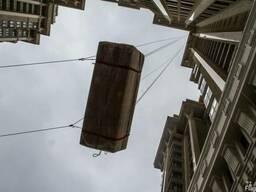Поднятие груза на высотные здания