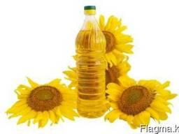 Подсолнечное нерафинированное масло, жмых
