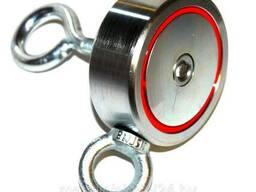 Поисковый магнит 120 кг. двусторонний