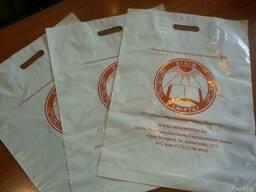 Полиэтиленовые пакеты 38х50см с логотипом