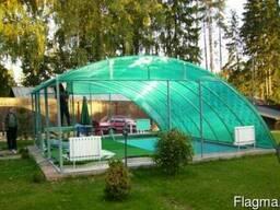 Полигаль (Сотовый поликарбонат)12 метров 10мм - фото 3