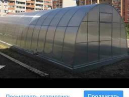 Поликарбонат сотовый прозрачный - фото 2