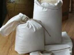 Полипропиленовые мешки 5, 10, 25, 50кг. под муку, крупы, рис