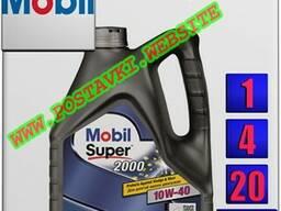 Полусинтетическое моторное масло mobil super 2000 x1 10w40