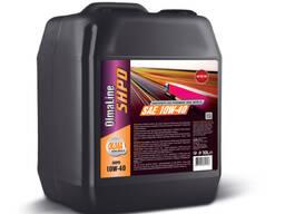 Полусинтетическое моторное масло olmaline shpd 10w40