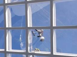 Помывка окон и витражей