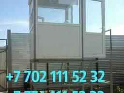 Посты охраны, КПП. 1, 5м на 1, 5м на 2, 6м. С платиковой дверью