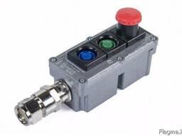 Посты управления взрывозащищенные кнопочные типа ПВК-15,25,3