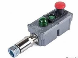 Посты управления взрывозащищенные кнопочные типа ПВК с индик