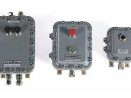 Посты взрывозащищенные кнопочные ПВК-А(Ц)-ВЭЛ-IIB