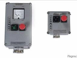 Посты взрывозащищенные кнопочные ПВК-ХХХХ из пластика или ал