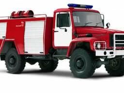 Пожарная цистерна АЦ-1, 6-40 шасси ГАЗ-3308