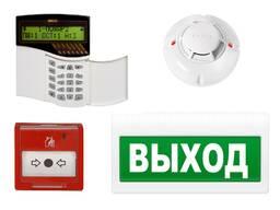 Пожарная сигнализация, АПС, датчик, выход