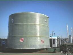 Пожарные резервуары из полимер-композитного материала.