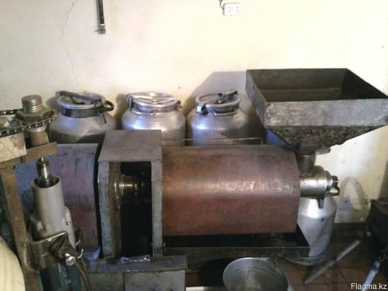 Пресс для производства нерафинированного подсолнечного масла