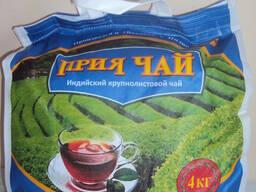 Прия крупнолистовой чай 4 кг Сумках
