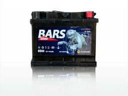 Продается аккумулятор марки BARS 60 A/h