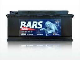 Продается аккумулятор марки BARS 75 A/h.