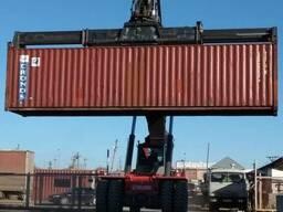 Продам контейнеры морские 40 - футовые, город Костанай. - фото 1