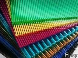 Продам сотовый поликарбонат цветной
