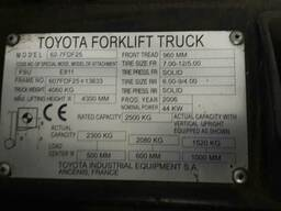 Продам вилочный погрузчик Toyota-2006 г. в. - фото 4