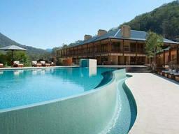 Проектирование гостиниц, кемпингов, зон отдыха и санаториев.