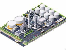 Проектирование складов ГСМ, нефтебаз (нефтехранилищ)