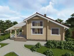 Строительство загородных домов из клееного бруса