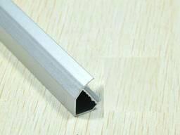 Профиль алюминиевый V-типа 50 см для светодиодных лент