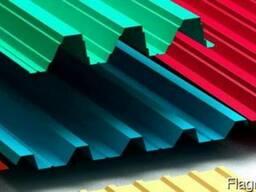 Профилированный лист с полимерным покрытием 0,5, С20, 1,15*6 - фото 3