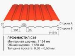 Профлист -Оцинковка и Полимер