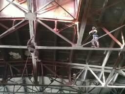 Промышленные альпинисты с Алматы
