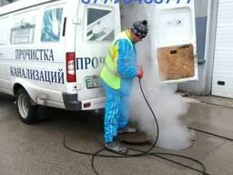 Промывка и прочистка канализации