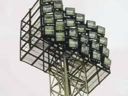 Прожектор светодиодный, прожектор для освещения стадионов