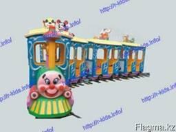 R-KIDS: Детский аттракцион железная дорога. KAP-009