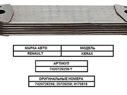 Радиатор масляный (маслоохладитель) на / для renault, рено