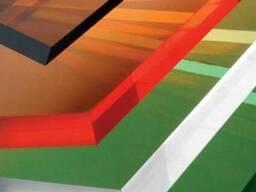 Разноцветный монолитный поликарбонат Кинпласт в Караганде