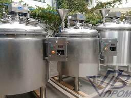 Реактор 1600 л для приготовления сиропов