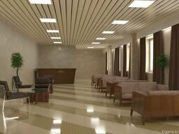 Реечный потолок. Люксалон.