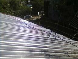 Ремонт крыш (замена шифера на профнастил) в Алматы