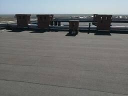 Ремонт крыши и гидроизоляция, мягкая кровля.