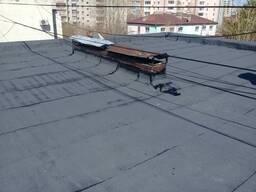 Ремонт крыши, мягкой и жесткой кровли, ремонт балконов