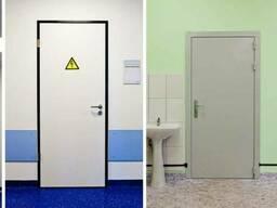 Рентгеннозащитные -двери