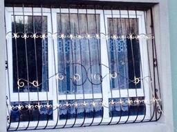 Решетки на окна любой сложности