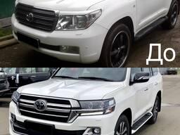 Рестайлинг Toyota Land Cruiser 200 в 2019 год - фото 1