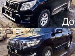 Рестайлинг Toyota Land Cruiser Prado 150 в 2019 год